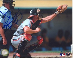 Baltimore Orioles RICK DEMPSEY Signed Auto Photo w/ COA