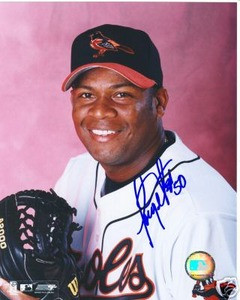 Baltimore Orioles JORGE JULIO Auto photo w/ COA Brewers