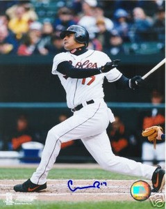 Baltimore Orioles Geromino Gil Autograph Photo
