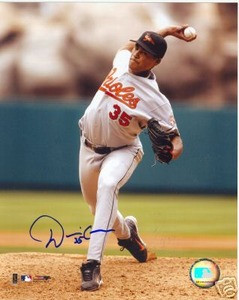 Baltimore Orioles Daniel Cabrera Autograph photo w/ COA