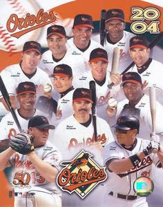 Baltimore Orioles 2004 Team Photo