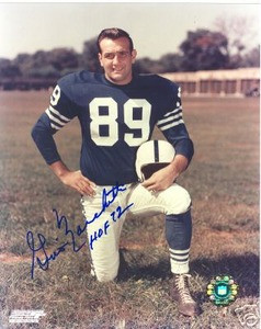 Baltimore Colts HOF Gino Marchetti Auto photo