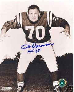 Art Donovan Baltimore Colts HOF auto photo w/ COA