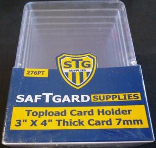 """SafTGard 3"""" x 4"""" 276 PT Toploader 10 Pack"""