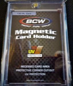 BCW OR Ultra-Pro 130 Pt UV Magnetic Card Holder