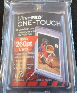 Ultra Pro 260 Pt UV One-Touch Magnetic Card Holder