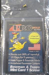 Pro-Mold  Bowman & Topps Mini Card 1-Screw PC21
