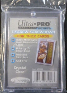Ultra Pro 1-Screw Screwdown for Thick Cards (up to 100 Point)