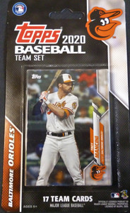 2020 Topps Orioles Factory Sealed Team Set