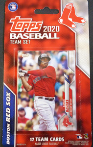 2020 Topps Red Sox Factory Sealed Team Set
