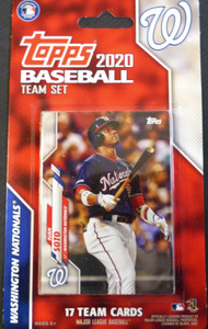 2020 Topps Nationals Factory Sealed Team Set