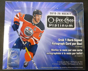 2019-20 Upper Deck O-Pee-Chee Platinum Hockey Sealed Hobby Box
