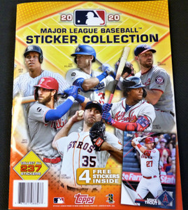 2020 Topps MLB Sticker Album