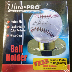 Ultra Pro Gold Base Baseball Holder (Ball not included)