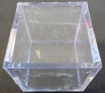 Golf Ball Display Cube (Single)