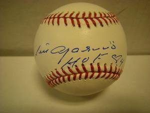 Luis Aparicio Auto Baseball