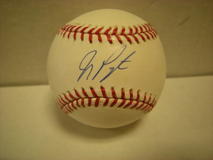 Jay Payton Auto Baseball