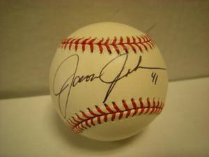 Jason Johnson Auto Baseball