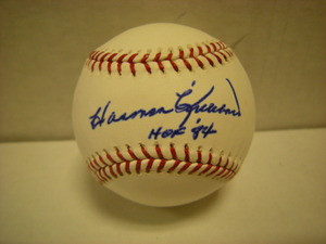 Harmon Killebrew Auto Baseball HOF84
