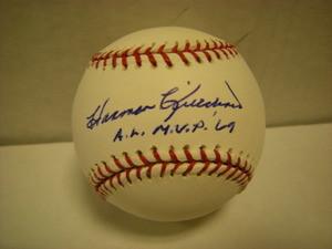 Harmon Killebrew Auto Baseball ALMVP69