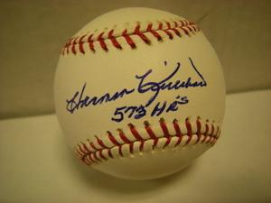 Harmon Killebrew Auto Baseball 573HRs