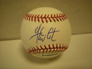 Garrett Atkins Auto Baseball UDA