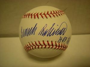 Frank Robinson Auto Baseball