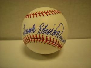 Frank Robinson Auto American League Baseball 1966 ALMVP