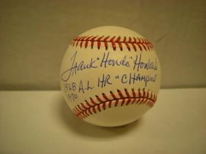Frank Howard Auto American League Baseball