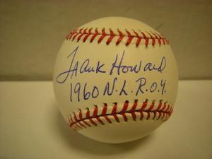 Frank Howard Auto National League Baseball