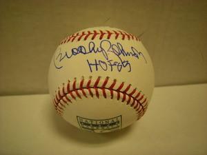 Brooks Robinson Auto Hall of Fame Baseball HOF83