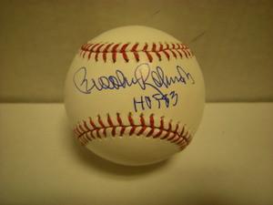 Brooks Robinson Auto Baseball HOF83
