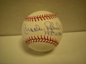 Brooks Robinson Auto Baseball 1970WSMVP