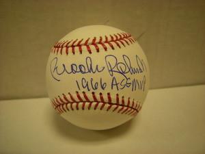 Brooks Robinson Auto Baseball 1966ASGMVP