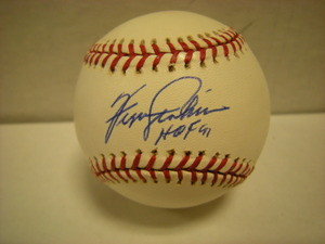 Fergie Jenkins Auto National League Baseball