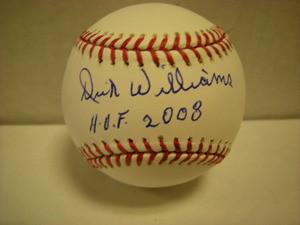 Dick Williams Auto Baseball