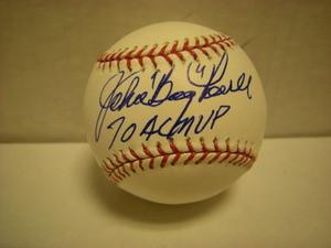 """John """"Boog"""" Powell Auto Baseball"""