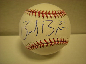 Brad Bergesen Auto Baseball