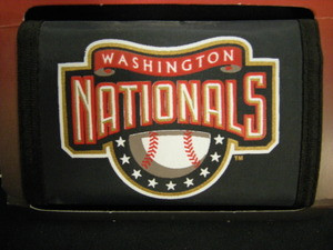 Washington Nationals Nylon Wallet
