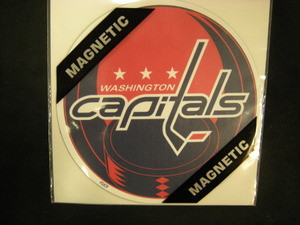 Washington Capitals Car Magnet