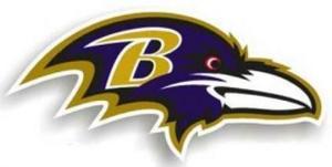 Baltimore Ravens Team Magnet