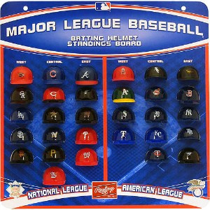 MLB Batting Helmet Standing Board