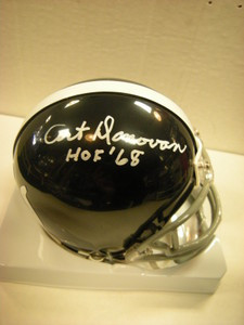 Art Donovan Auto Colts Mini Helmet