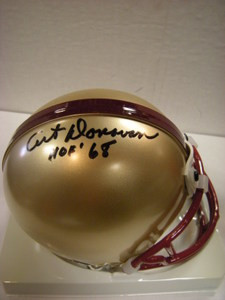 Art Donovan Auto Boston College Mini Helmet