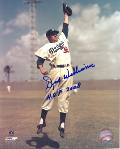 Dick Williams Auto 8x10 Photo #3