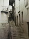 "HENRY GASSER: (1909-1981) Photo ""Old Steps With Figure"" Italy Ca 1950 Framed"