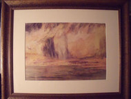 """APOCALYPSE"" GRACE WOOD HERRING AMER CA 1950-60 CUSTOM FRAMED"