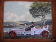 "WELSH AMER SIGNED FOLK ART ""1920 ROLLS ROYCE"" INCREDIBLE"