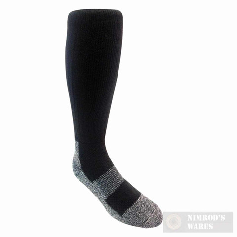 Covert Threads ICE Extreme Cold Military Boot Socks LG BLK 3155