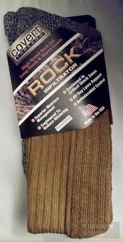 Covert Threads Rugged Terrain INFILTRATOR Socks LG CB 3301